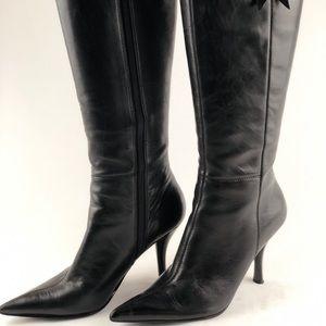Women's Nine West knee high dress boots size 6m